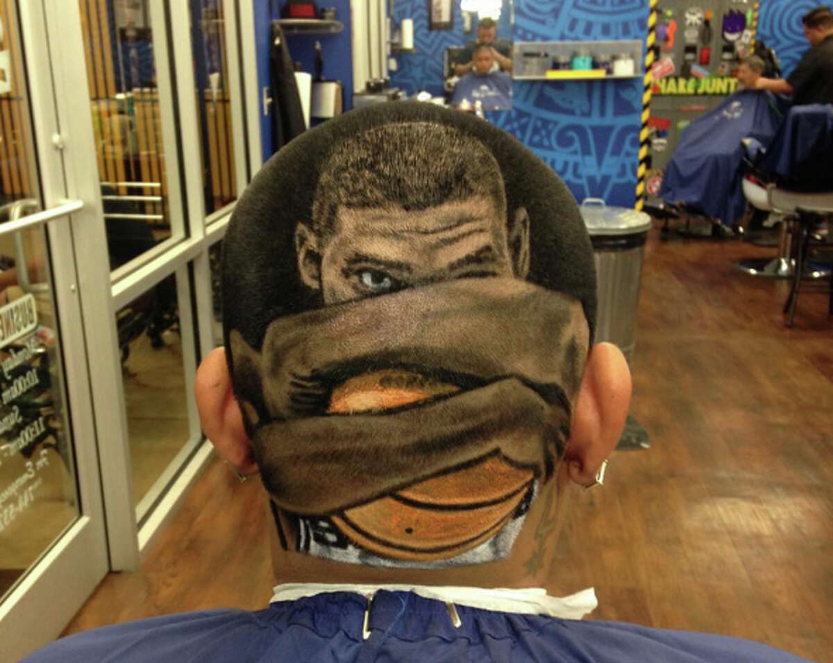 The San Antonio barber known as Rob the Original is famous for his life-like hair cut portraits of celebrities and crazy custom cuts for Spurs fans.