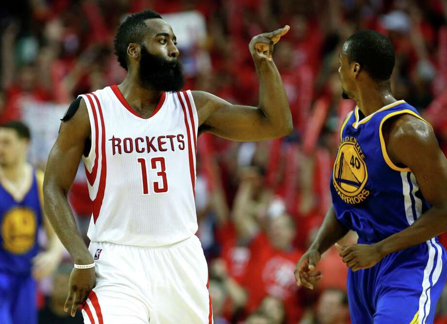 James Harden and the Rockets are back in the conference final round for the first time since 2015. The Rockets have gone 4-3 in conference finals entering this year's postseason. Photo: James Nielsen, Staff / © 2015  Houston Chronicle