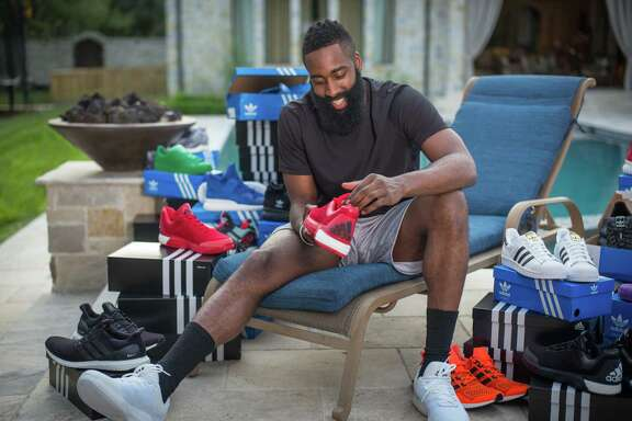 James Harden received $200 million from Adidas to wear the company's shoes.