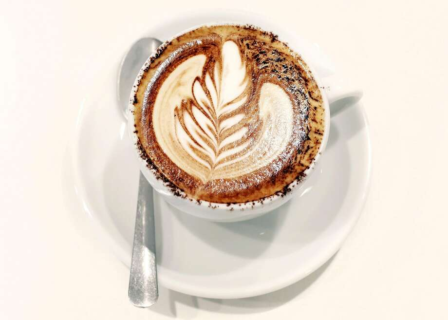 A finished Karl the Latte at Wrecking Ball Coffee in San Francisco Wednesday October 13, 2015. Photo: Kathleen Duncan, The Chronicle