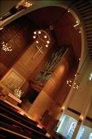 Trinity University's Parker Chapel is one of Bartlett Cocke's projects in San Antonio.