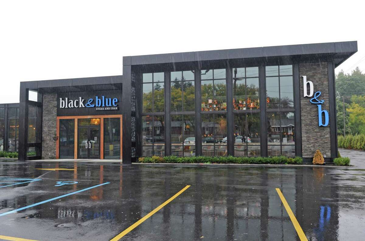 Black and Blu Steak & Crab at 1470 Western Avenue on Friday Oct. 9, 2015 in Albany, N.Y. (Michael P. Farrell/Times Union)