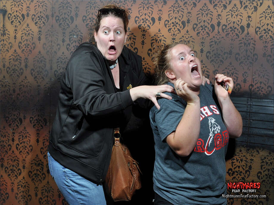 Every year, the Nightmares Fear Factory haunted house in Niagara Falls, Canada releases a selection of photos of its terrified visitors. These are their faces of fear. Photo: Nightmares Fear Factory/Courtesy