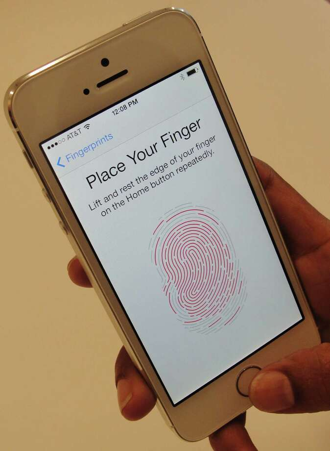 Earlier this year, USAA added the option of using fingerprint technology. Photo: AFP /Getty Images File Photo / AFP