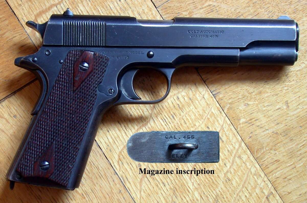 M1911 State: UtahAdopted: March 2011History: The semi-automatic pistol, which was the service pistol of the U.S. Armed Forces for many decades, was just one of the creations of Utah native John Moses Browning.
