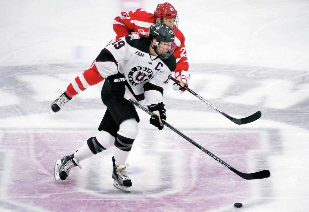 Oct. 21:Union Hockey home opener. Dutchmen host RIT in season's first game at Messa Rink.