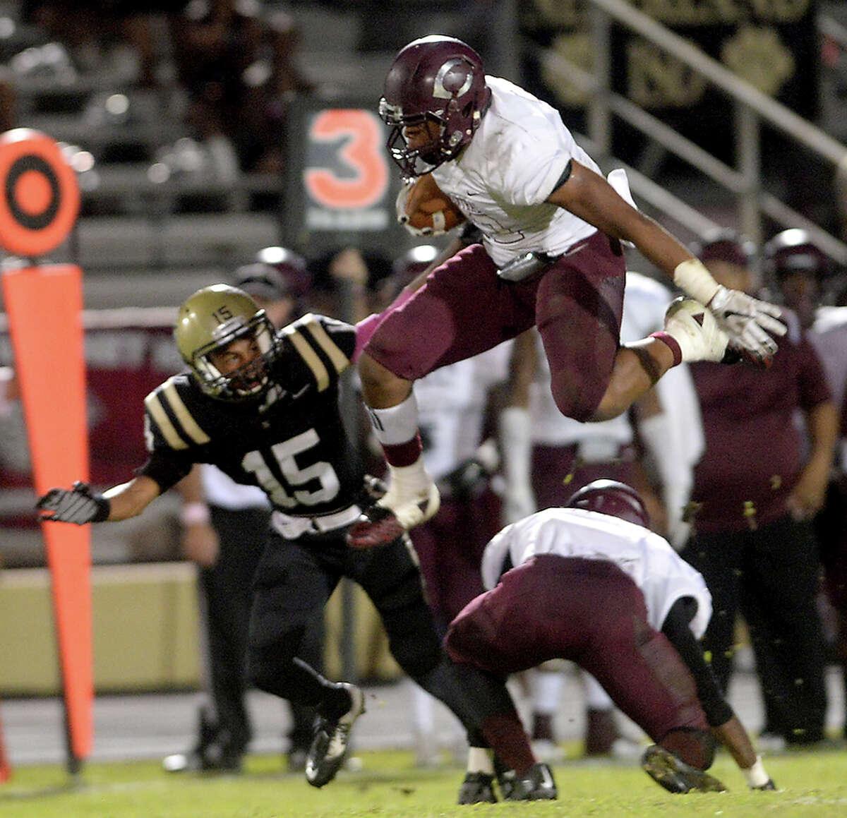 Devwah Whaley, Central Running Back Height: 6-1 Weight: 210 College: Arkansas
