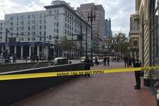 An officer-involved shooting erupted just after 12 p.m. in downtown San Francisco on 8th Street just South of Market Street. Police had Market Street closed to traffic between 7th and 9th streets.