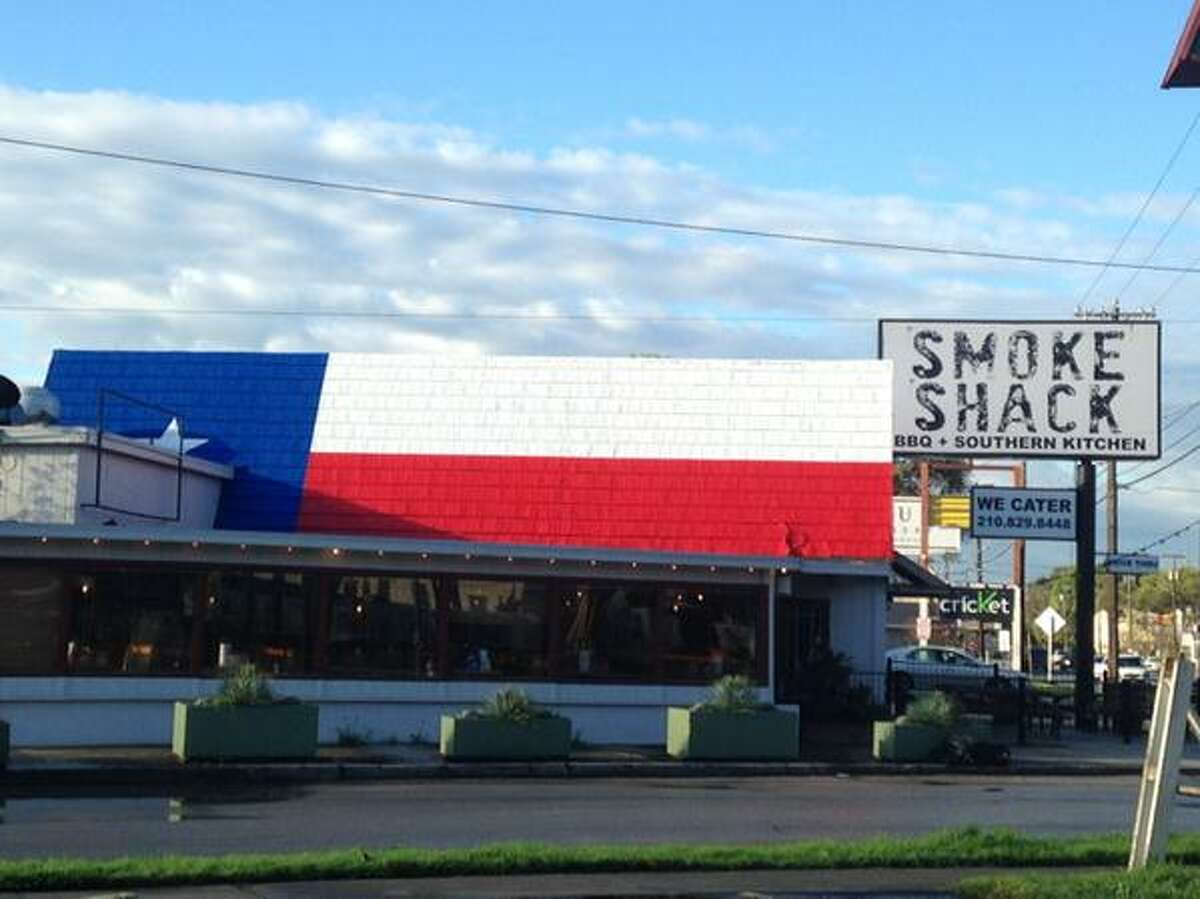 The Smoke Shack is located on Broadway across the street from the Witte Museum.