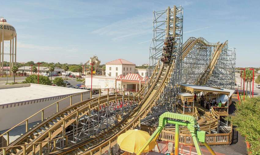 The new Switchback roller coaster at ZDT's Amusement Park is one of the first of its kind: A wooden forward and backward roller coaster.