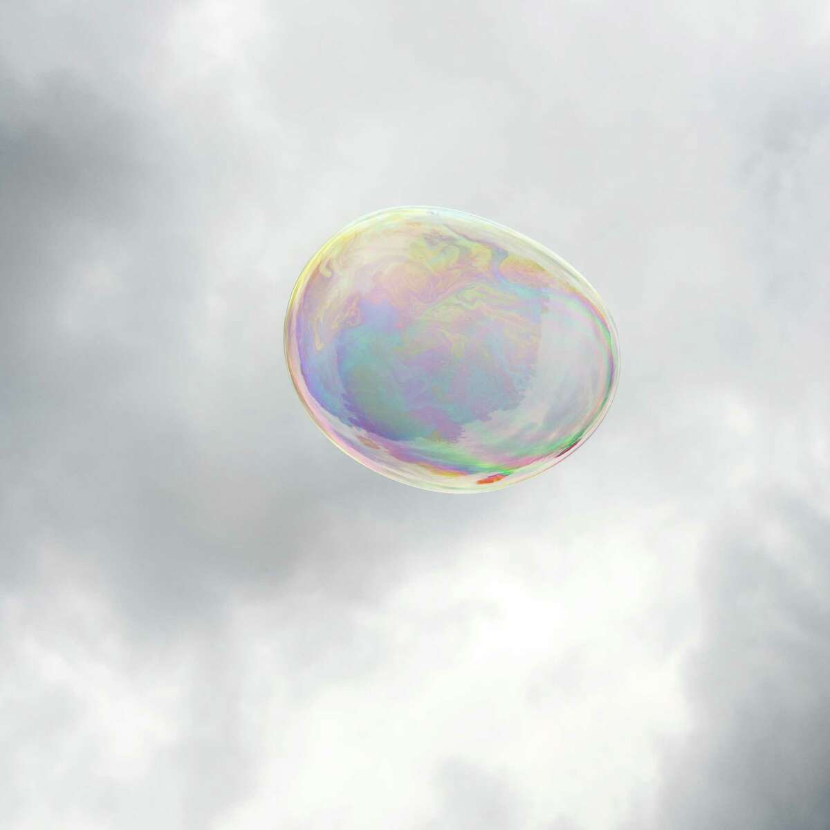 Bubble, Stuart Allen's Luminaria 2015 project, is a looped, slow-motion video documenting the brief life of a bubble.