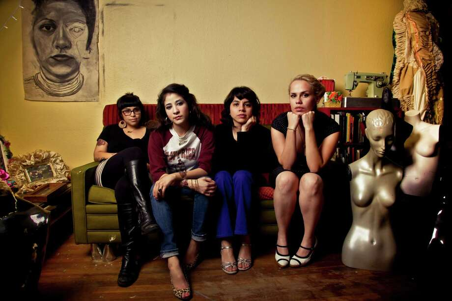 Mari Hernandez, Kristin Gamez, Sarah Castillo and Ruth Leonela Buentello make up the San Antonio-based art collective Las Rudas. Photo: Courtesy Melody Lopez