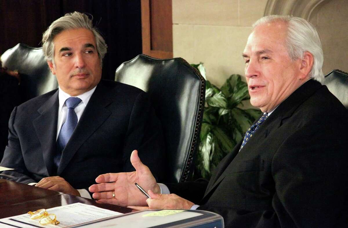 UT System Chancellor Francisco Cigarroa and Regents Chairman Gene talk to Saen Editorial board Thursday March 7, 2013,