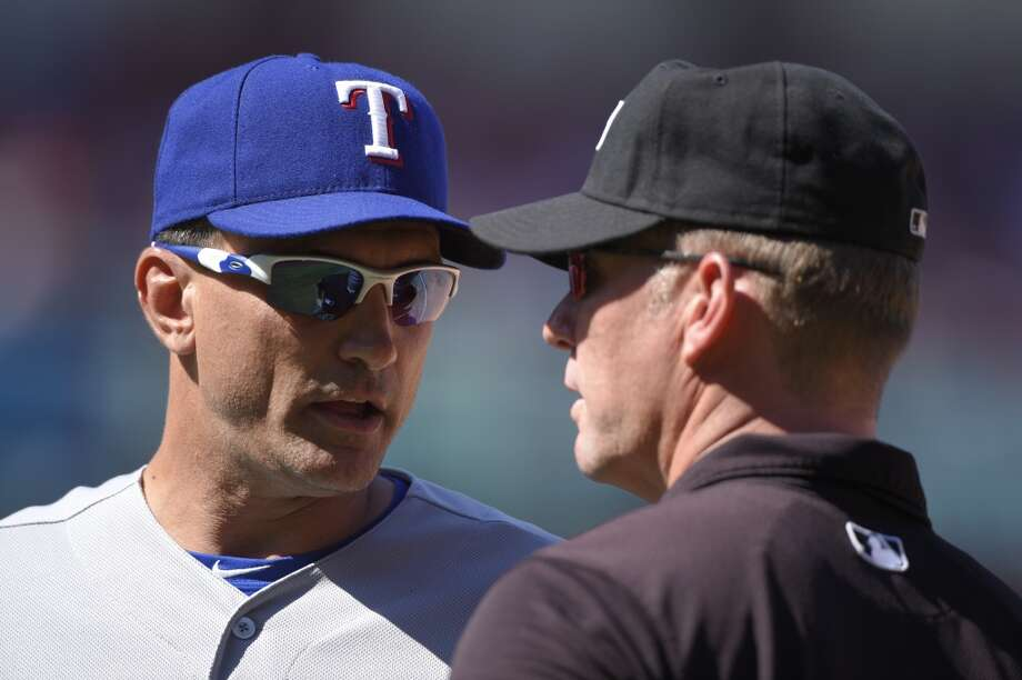 Tim Bogar isn't a name that will be familiar to the casual baseball fan, but he appears to be the early favorite to succeed McClendon.   Bogar, 48, spent this past season as Dipoto's special assistant in Anaheim, but the former .228 career hitter for the Mets, Astros and Dodgers has a proven track record of managing success in the minor leagues, where he amassed a 362-266 record and reached his league's championship four times.  A disciple of Cubs manager Joe Maddon and Indians manager Terry Francona, Bogar went 14-8 last season as the Rangers' interim manager after Ron Washington abruptly resigned. Photo: Matt Brown, Getty Images