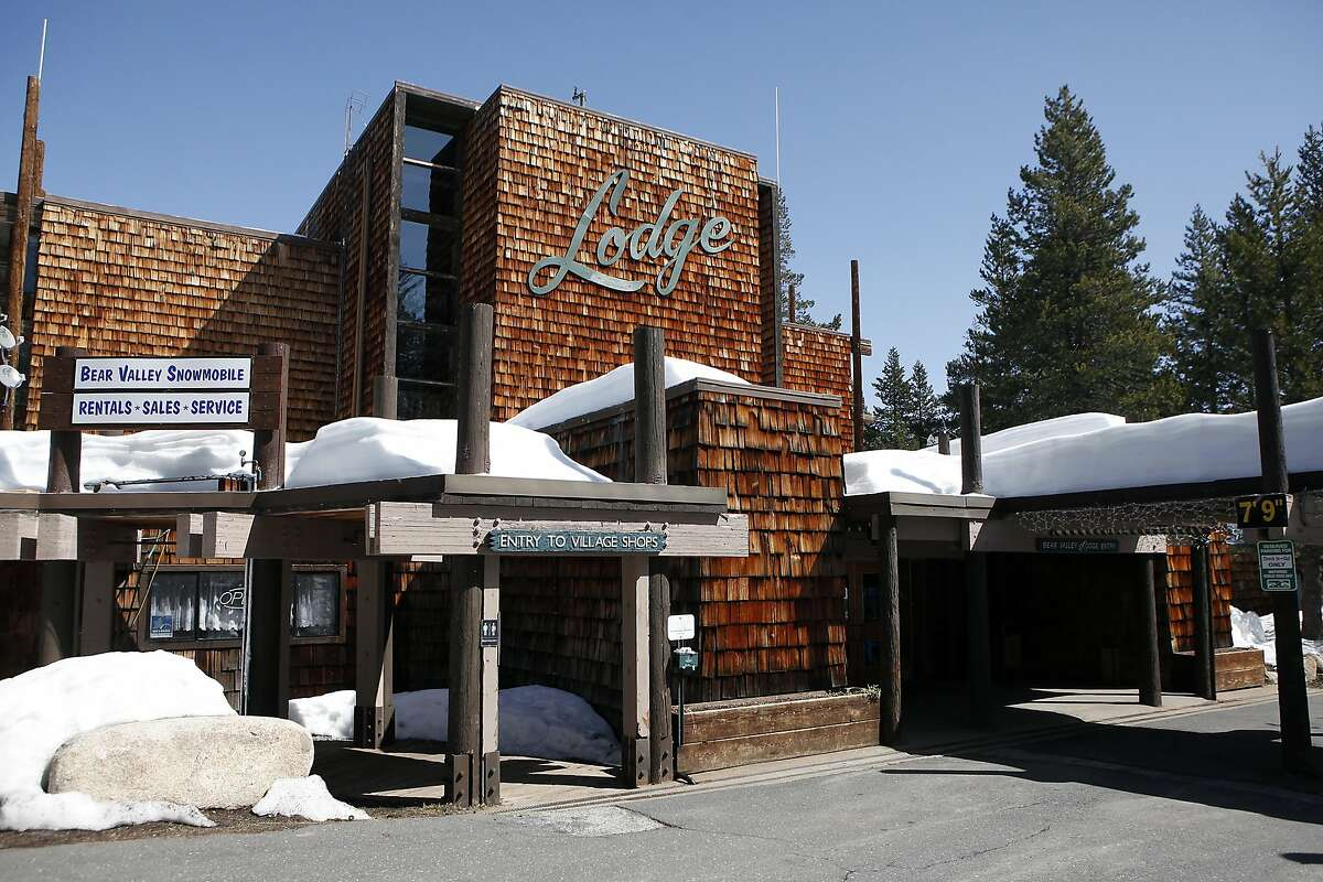 The lodge in Bear Valley Village was built in the 1960's and is in need of renovation, in Bear Valley, CA, Saturday, March 15, 2014.