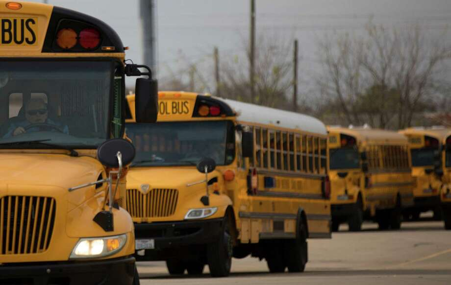 Rises in education employment are typical in September as school bus drivers, cafeteria workers and janitors return to their school jobs after the summer holiday.  ( Johnny Hanson / Houston Chronicle ) Photo: Johnny Hanson, Staff / © 2015  Houston Chronicle