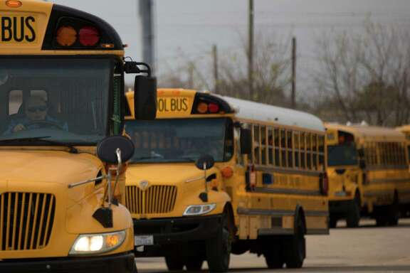 Rises in education employment are typical in September as school bus drivers, cafeteria workers and janitors return to their school jobs after the summer holiday.  ( Johnny Hanson / Houston Chronicle )