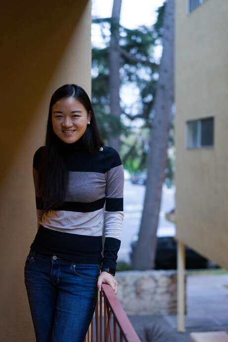 Jing Ran poses for a photo in Redwood City, Calif. on Friday, Oct. 16, 2015. Ran double majored and now works at Electronic Arts but may have to leave if she doesn't win the upcoming visa lottery. Photo: James Tensuan, Special To The Chronicle