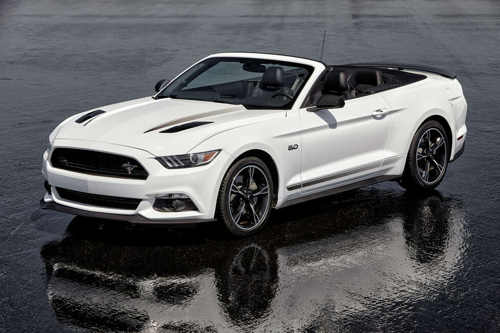 2016 Ford Mustang GT Convertible Equipped with the California Special Package (photo courtesy of Ford)