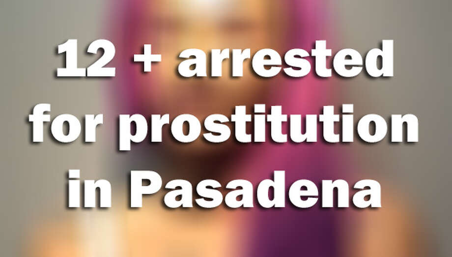 The following subjects were arrested and charged with prostitution in October 2015 in Pasadena.