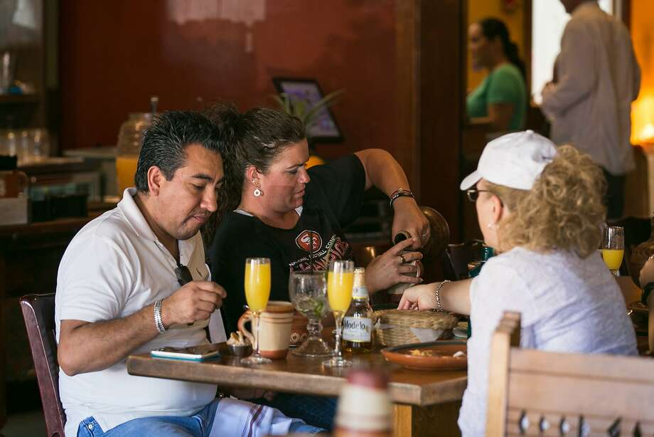 Customers during Sunday brunch at Los Moles in San Rafael. Photo: Jen Fedrizzi, Special To The Chronicle
