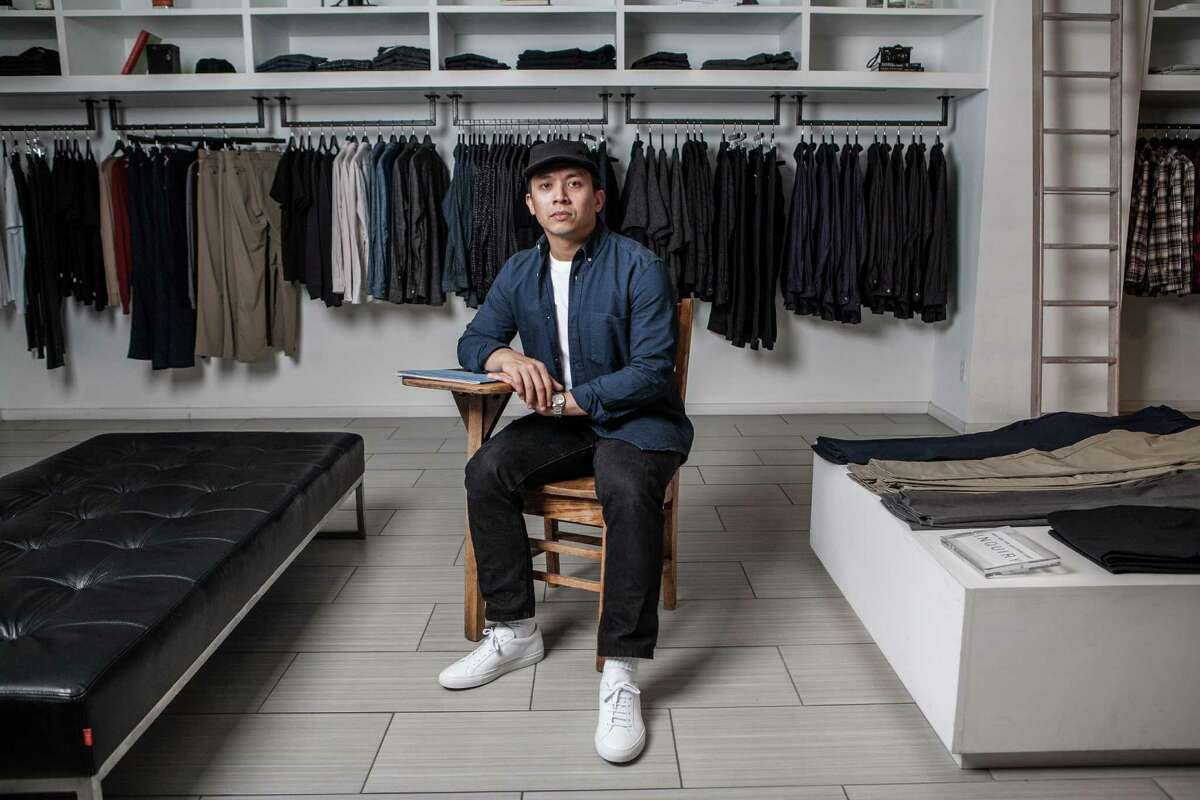 Alan Javillonar, co-owner of The Class Room, along with four other partners own and run the men's clothing store near Rice Village.