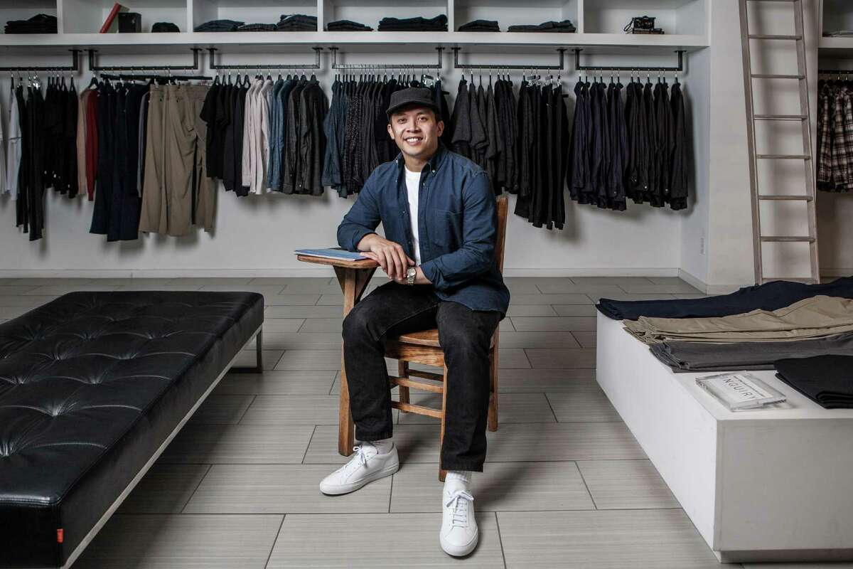 Alan Javillonar, co-owner of The Class Room, poses for a portrait at the store Friday September 25, 2015. Javillonar along with four other partners own and run the men's clothing store near Rice Village. (Michael Starghill, Jr.)