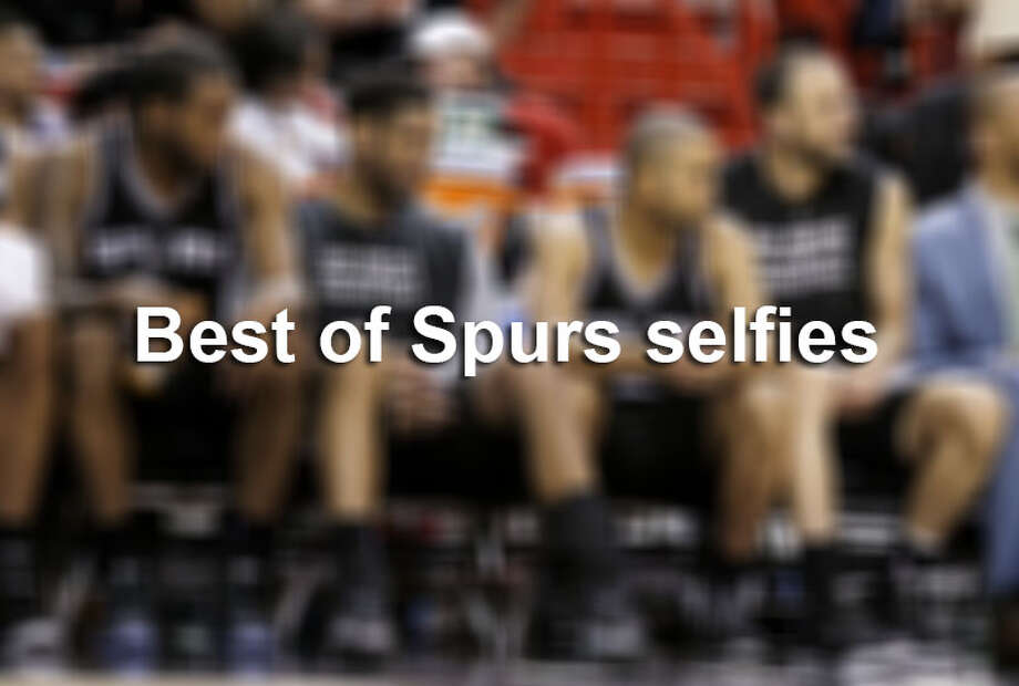 Whether on vacation, on the road or relaxing at home, the Spurs know how to work their angles to accomplish the perfect selfie.