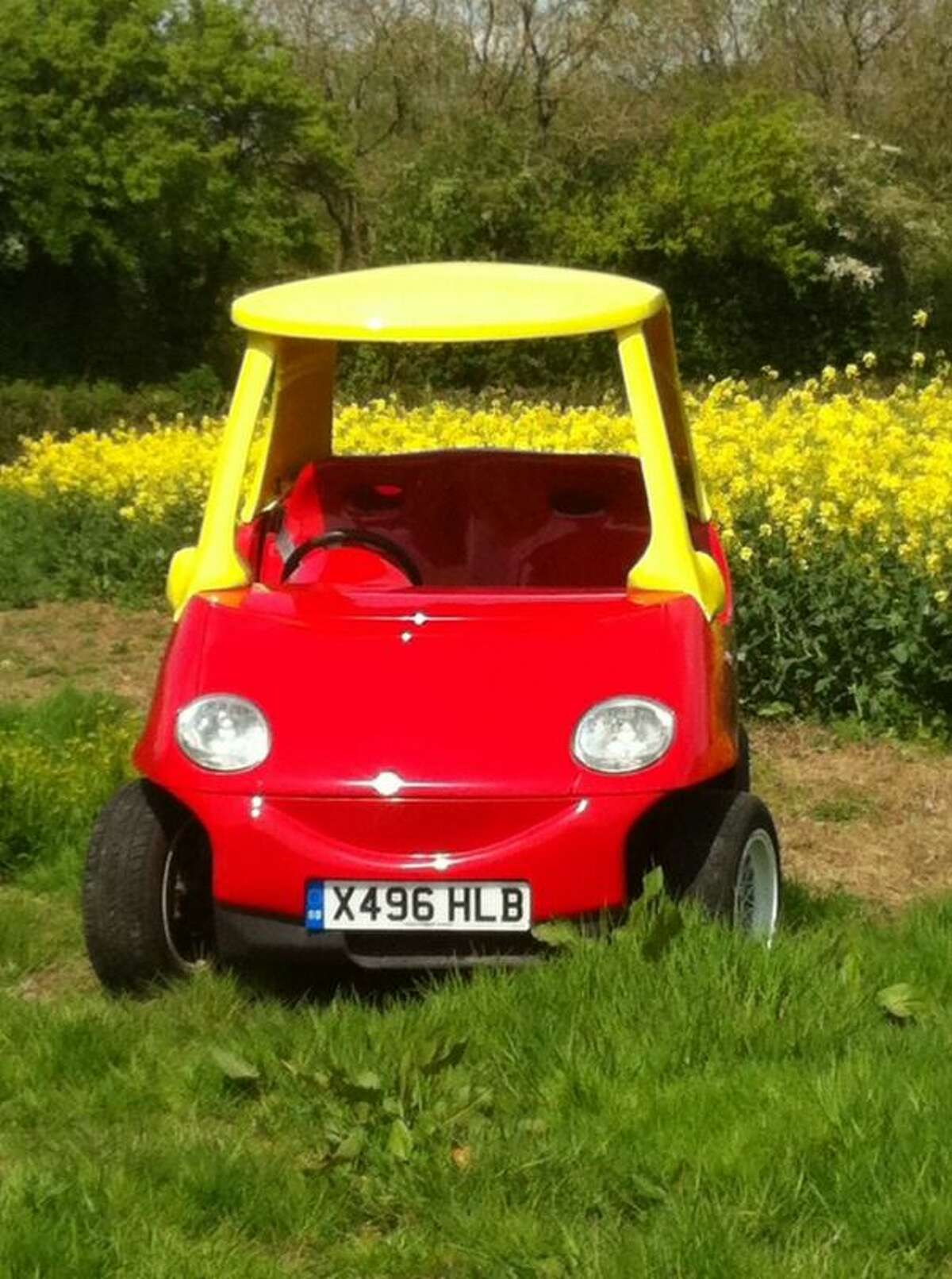 The price tag includes all the bells and whistles of the original tiny car --- which if you remember, aren't much.