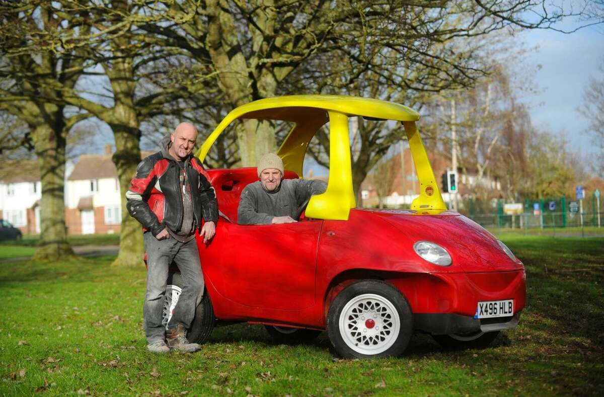 John Bitmead is auctioning the quirky ride for 21,500 British pounds, which is about $33,194.