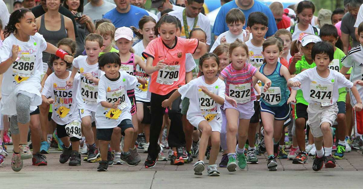 More than 18 million people - including children of all ages - took part in running events in the U.S. in 2014.
