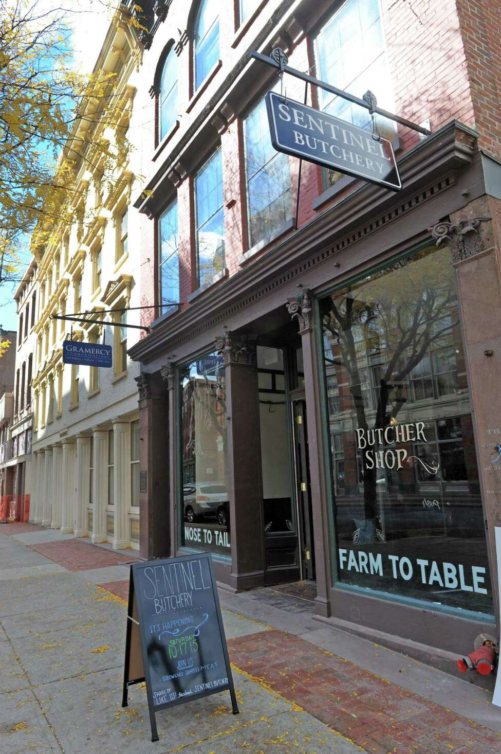 Sentinel Butchery , a whole-animal butcher shop, opened at 225 River St. in Troy in October. Read more.