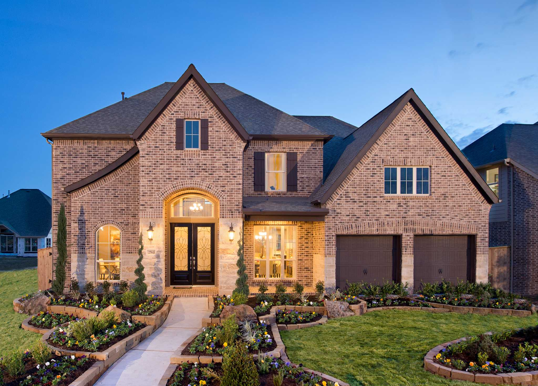 New lake park among highlights of cinco ranch for Ranch model homes
