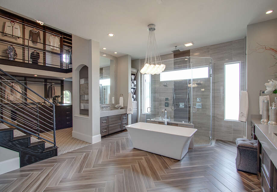Among The Many Design Highlights Is The Two Story Closet In The Master Bath  Of