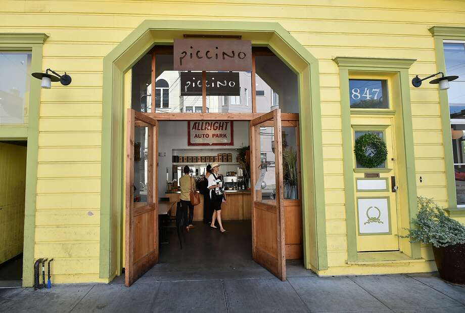 Patrons are seen inside Piccino, an Italian trattoria, in the dogpatch neighborhood of San Francisco on October 16, 2015. Photo: JOSH EDELSON / SAN FRANCISCO CHR