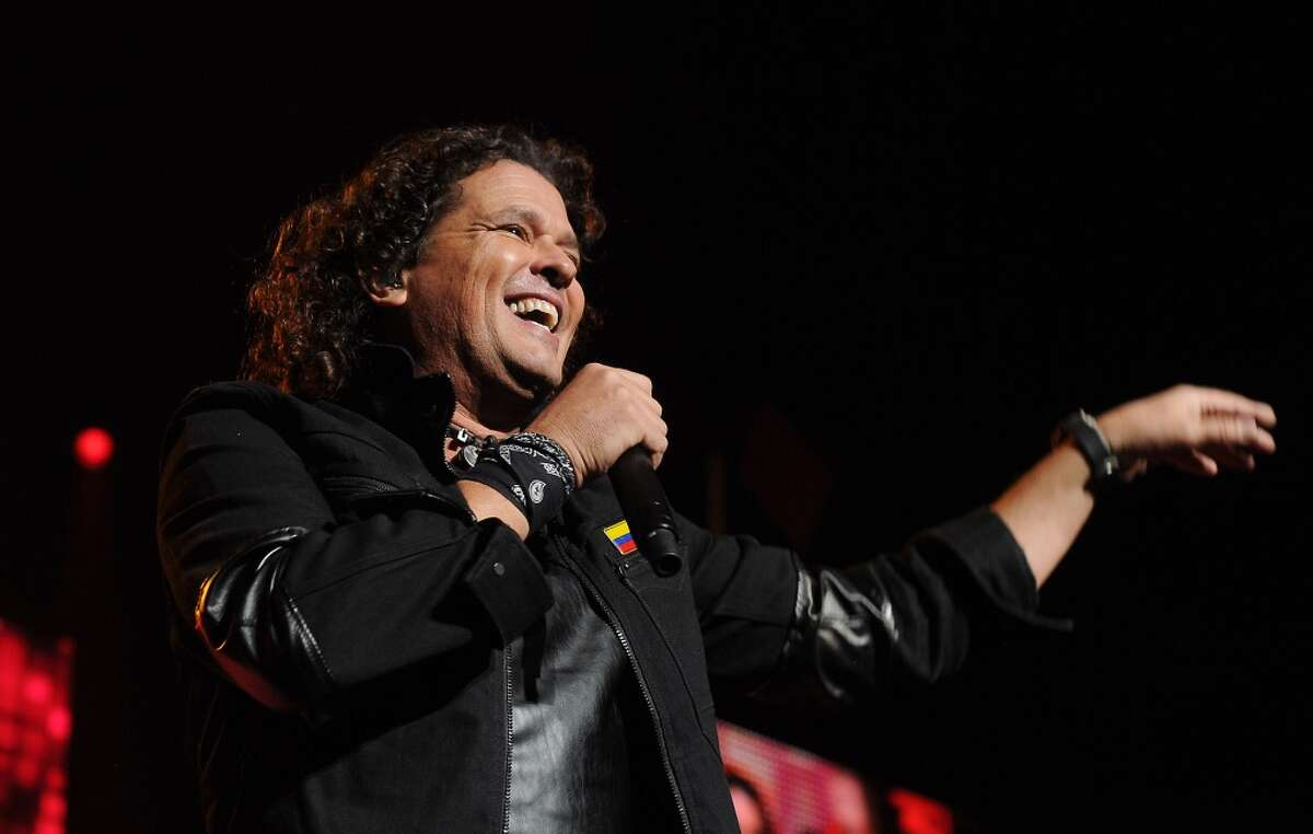 Carlos Vives concert at the Toyota Center in Houston.