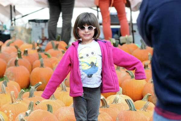 The 45th annual Pumpkin Patch event at the Old Greenwich School, Old Greenwich, Conn., Saturday, Oct. 17, 2015.