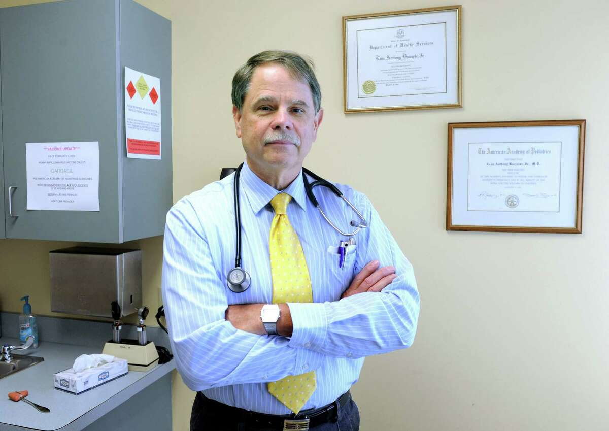 Dr. Leon Baczeski is a Danbury pediatrician with Pediatric Associates of Western Connecticut. Baczeski says he's noticed an increased awareness of concussions by parents and school officials.