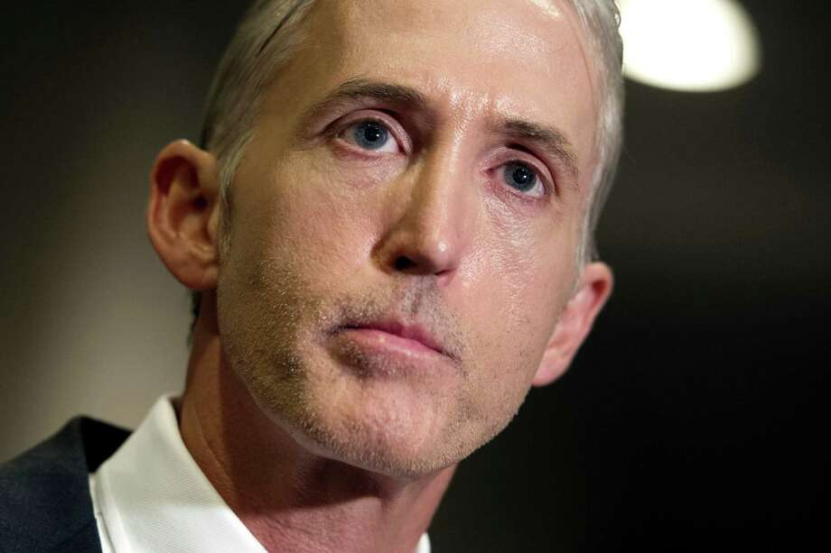 Rep. Trey Gowdy of South Carolina faces pressure from both sides as the three-term Republican congressman chairs the embattled House committee investigating the 2012 Benghazi attacks.  Photo: Cliff Owen, FRE / FR170079 AP