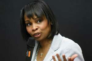 Mayor Ivy Taylor spoke at the annual Texas Tribune Festival.