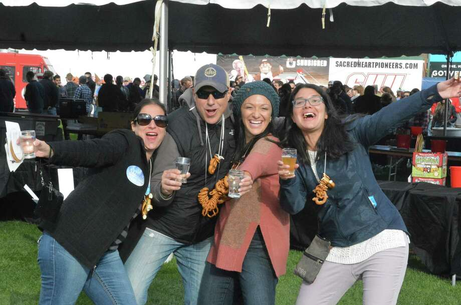 The annual Harbor Brew Fest was held at the Ballpark at Harbor Yard in Bridgeport on October 17, 2015. Were you SEEN? Photo: Vic Eng  / Hearst Connecticut Media Group