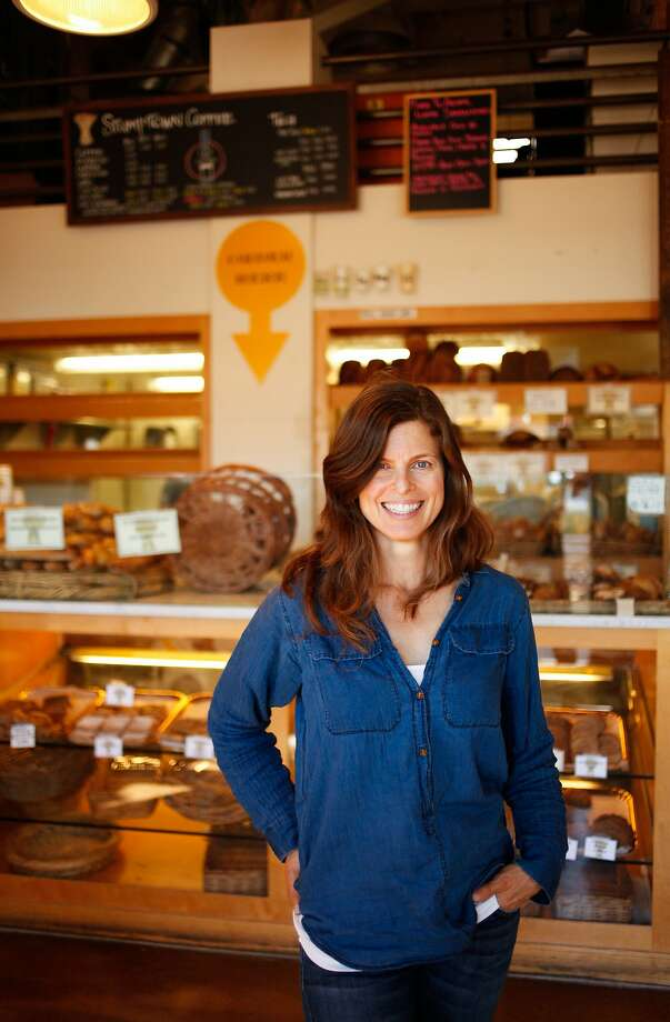 Winemaker Helen Keplinger at Modern Bakery, one of her favorite spots in Napa, Calif., on Monday, October 12, 2015. Photo: Sarah Rice, Special To The Chronicle
