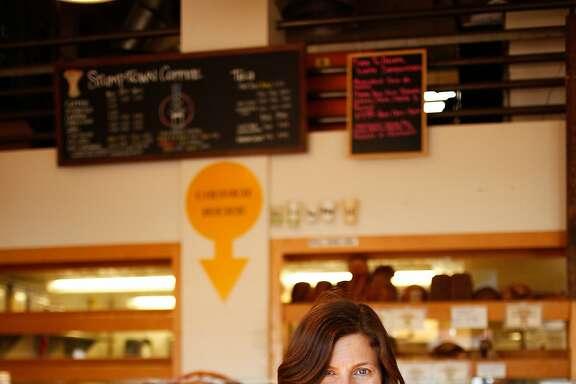 Winemaker Helen Keplinger at Modern Bakery, one of her favorite spots in Napa, Calif., on Monday, October 12, 2015.