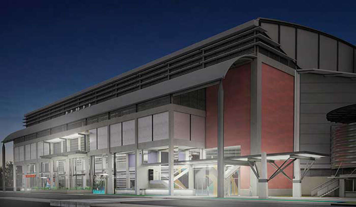 courtesy renderings of ATT Center improvements. South Entrance After