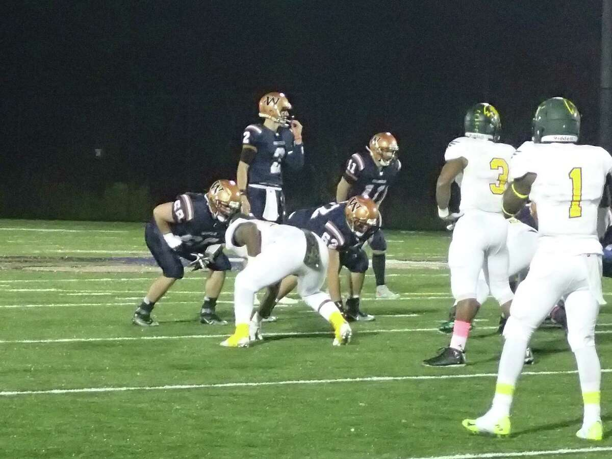 Action from the Fitchburg State at Western Connecticut football game Oct. 17, 2015.