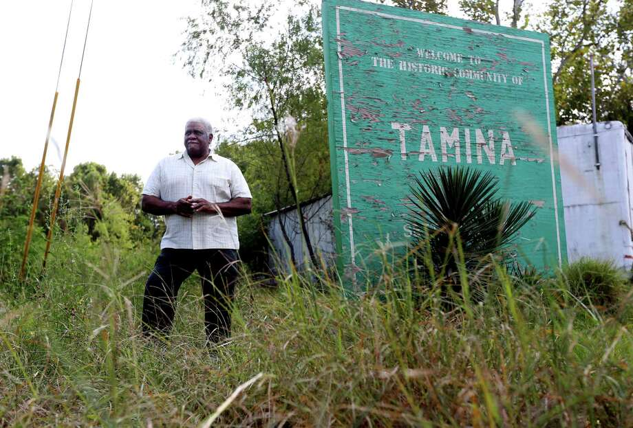 James Leveston, 73, is president of Tamina's water supply company.  Photo: Gary Coronado, Staff / © 2015 Houston Chronicle