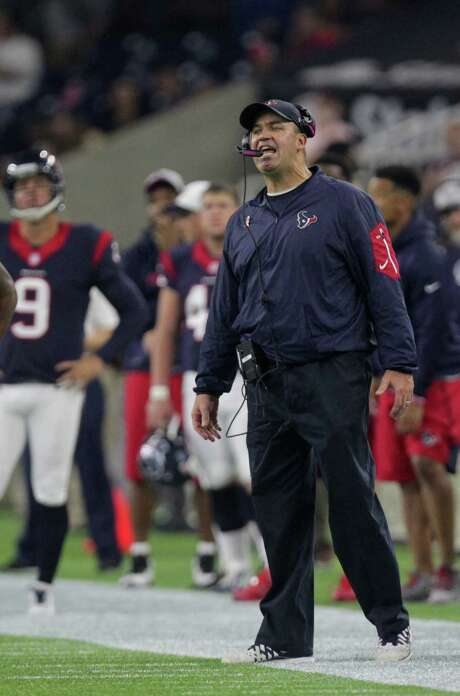 Texans coach Bill O'Brien is 10-11 in his first 21 games, one win better than predecessor Gary Kubiak. Photo: Jon Shapley, Staff / © 2015 Houston Chronicle