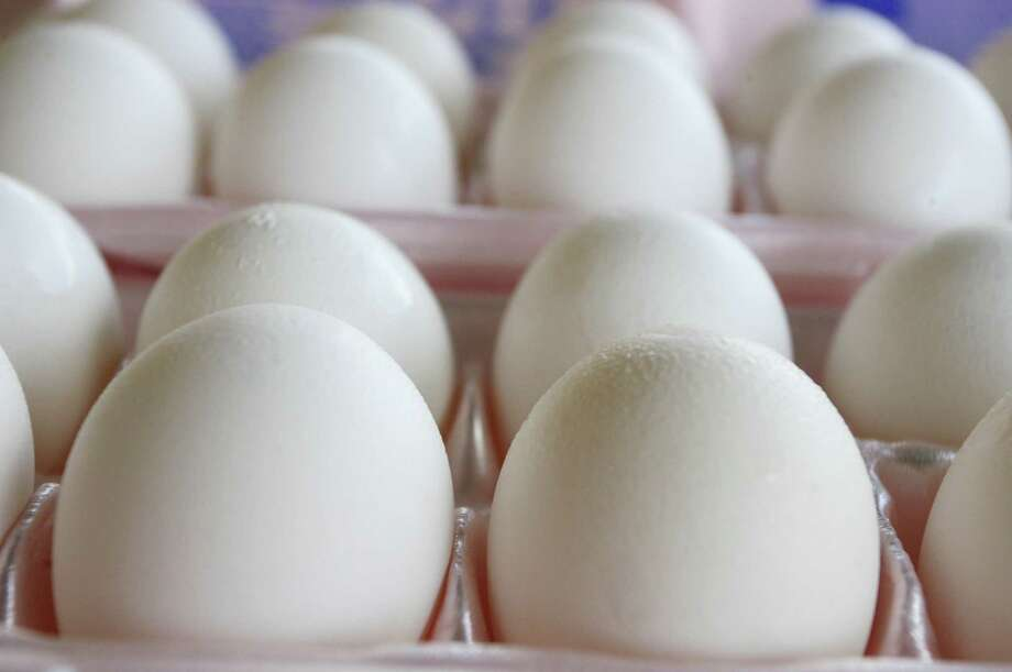 The price for a dozen eggs last month rose to almost $2.97, up 3 cents from August and a 50.6 percent jump over the prices in September 2014. They've risen 52 percent since the 2015 low of $1.96 a dozen in May. Photo: AFP / Getty Images File Photo / AFP