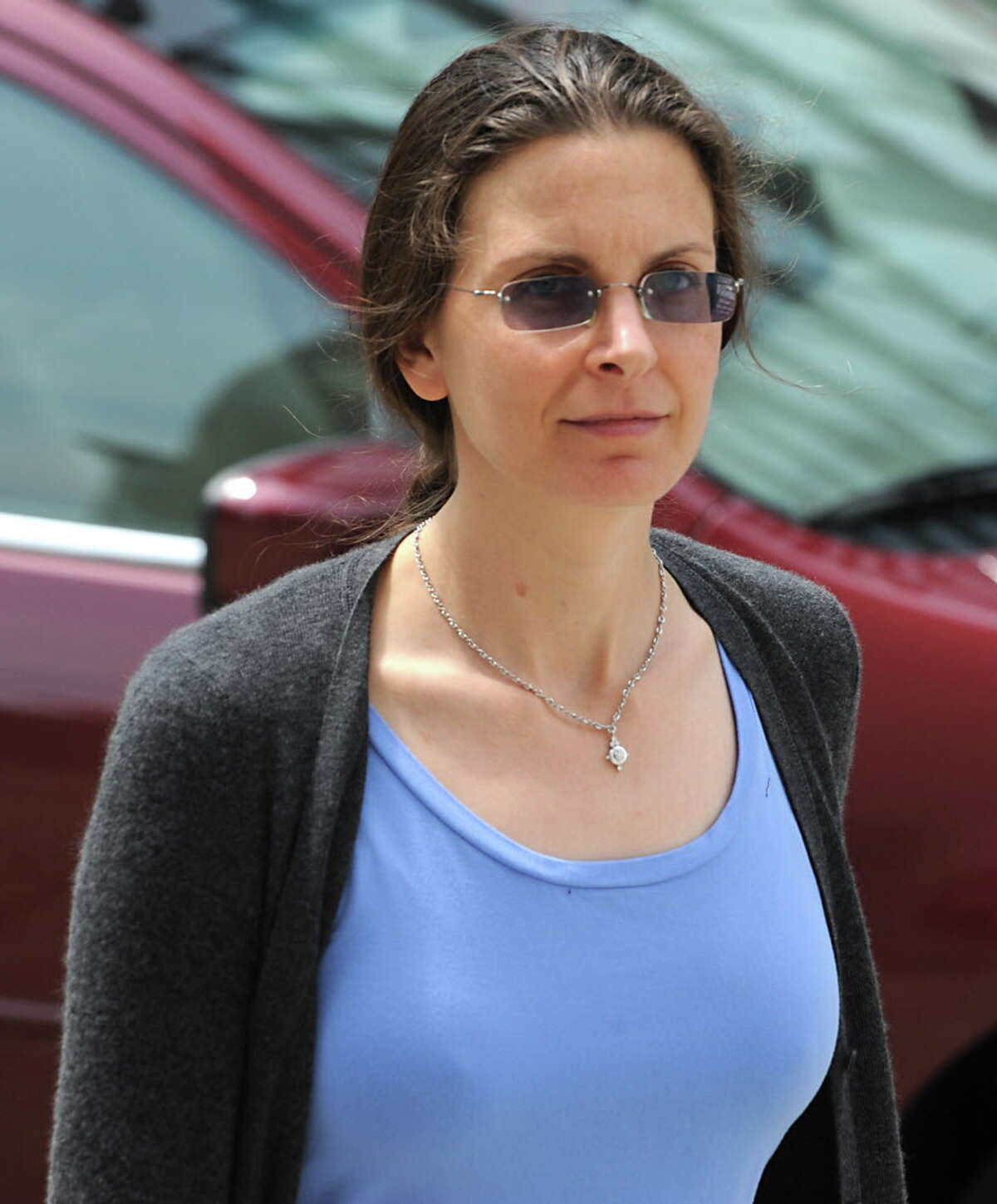 Clare Bronfman, pictured here in 2011, has been accused by a former NXIVM associate of implanting a virus on her late father's computer. The virus, called a key-stroke logger, was allegedly used by NXIVM officials to secretly monitor the emails of Edgar Bronfman, Sr. (Lori Van Buren / Times Union)