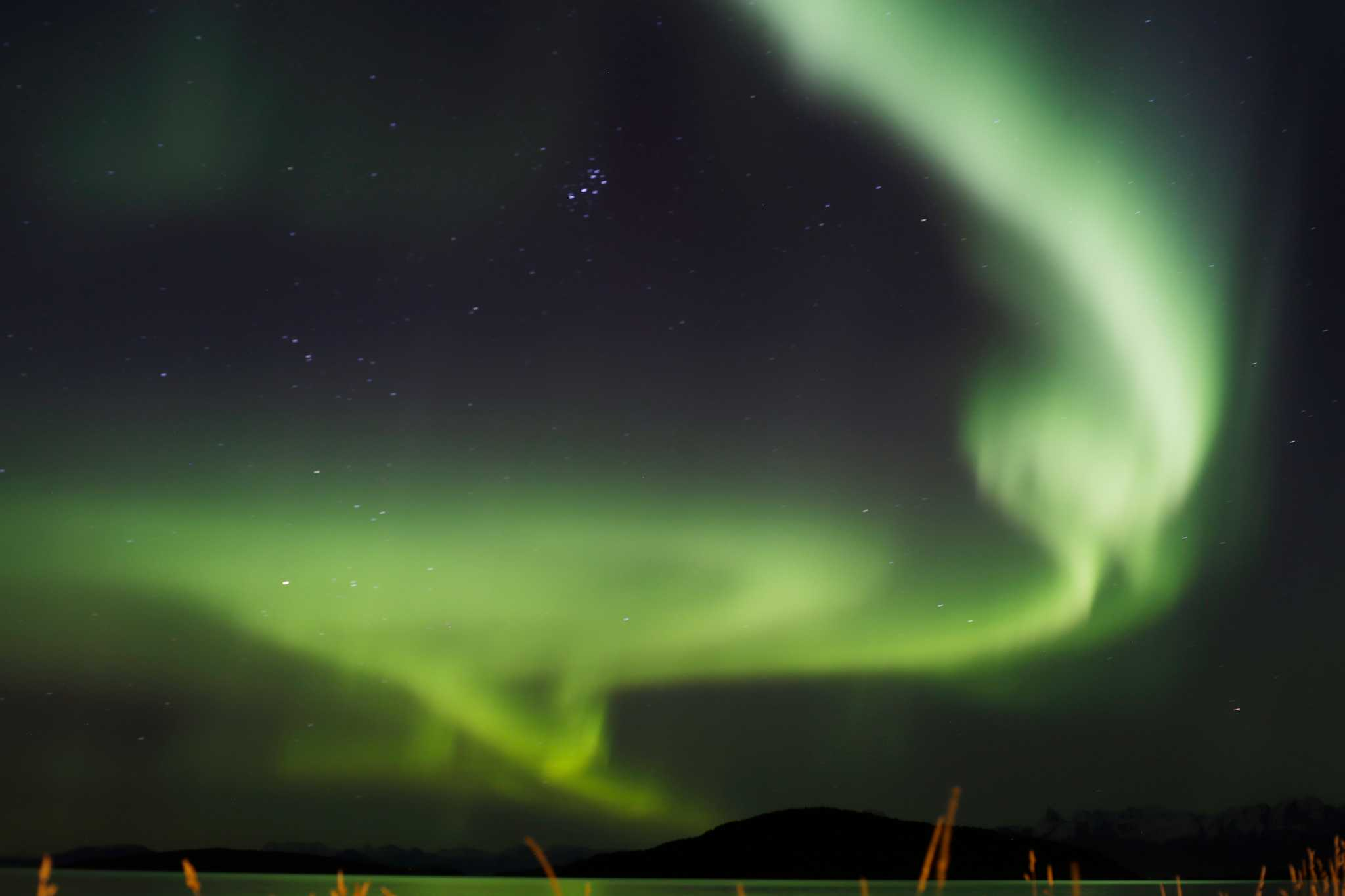 You may have a shot at seeing the northern lights this weekend -- if weather complies